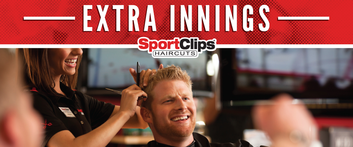 The Sport Clips Haircuts of West Bountiful  Extra Innings Offerings